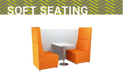 Soft seating solutions for commercial offices