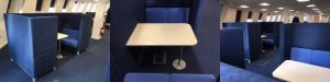Meeting booths: custom made by Chairplan
