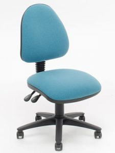 Cassius. This operator chair combines affordability and practicality with easy to use adjustments
