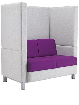 Coco soft seating. Meeting booth
