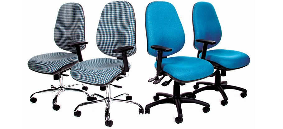 Grande Plus office chairs. Operator and task seating