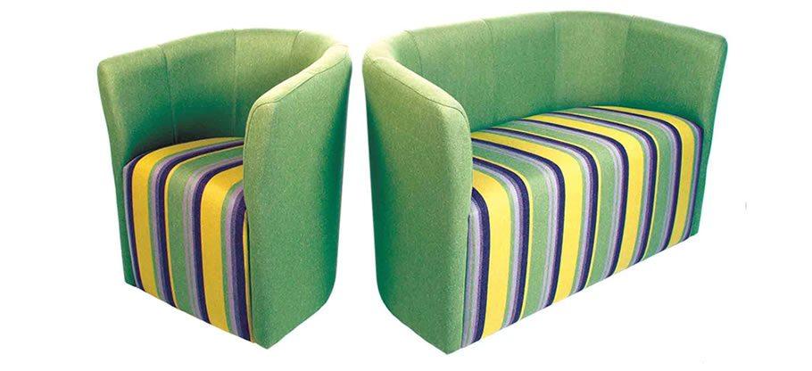 Ivano soft seating. Sofa Settee