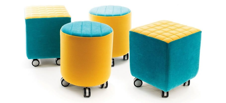 Jolly stools and soft furniture from Chairplan
