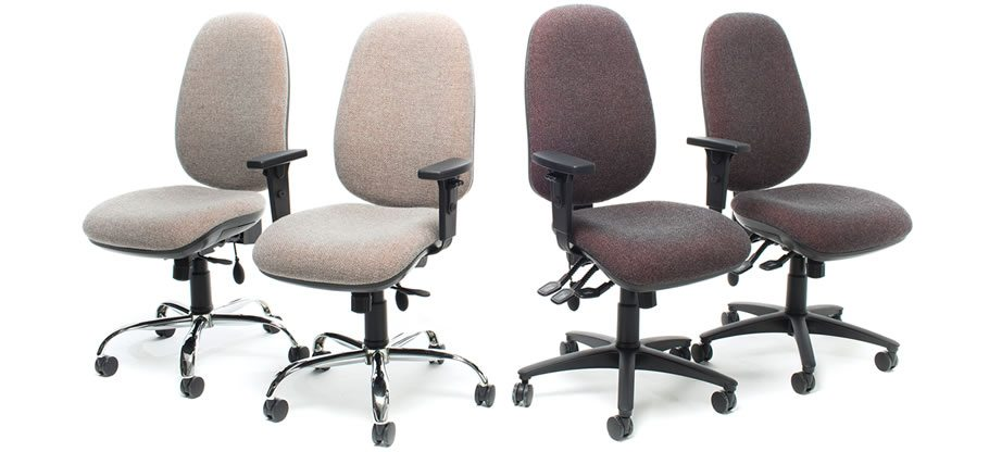 Jumbo office chairs. Operator and task seating