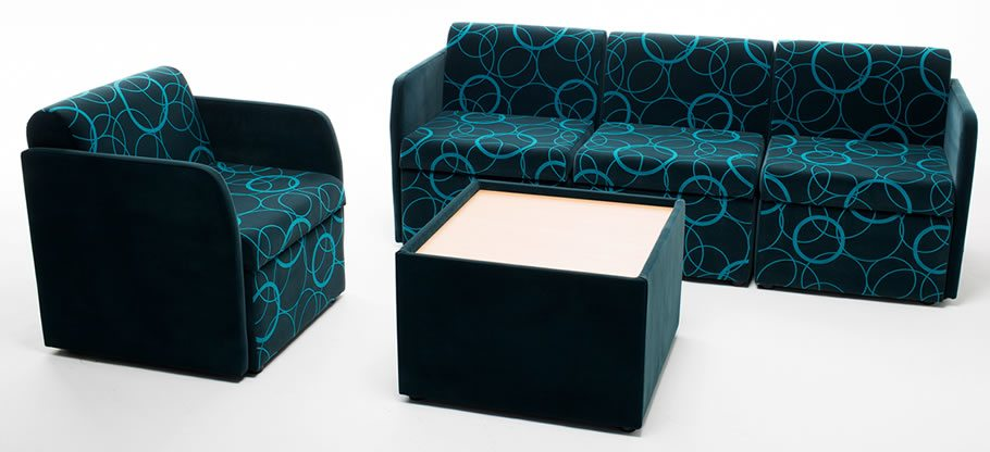 MSC soft seating. Sofa Settee Chair