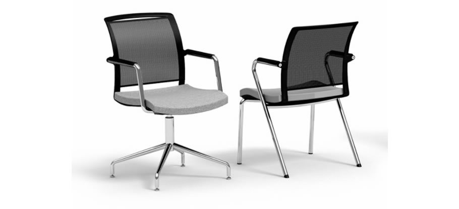 Passport office chair. Operator and task seating