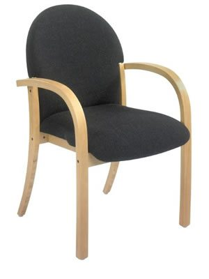 Piero. Durable wooden frame, stacking chair