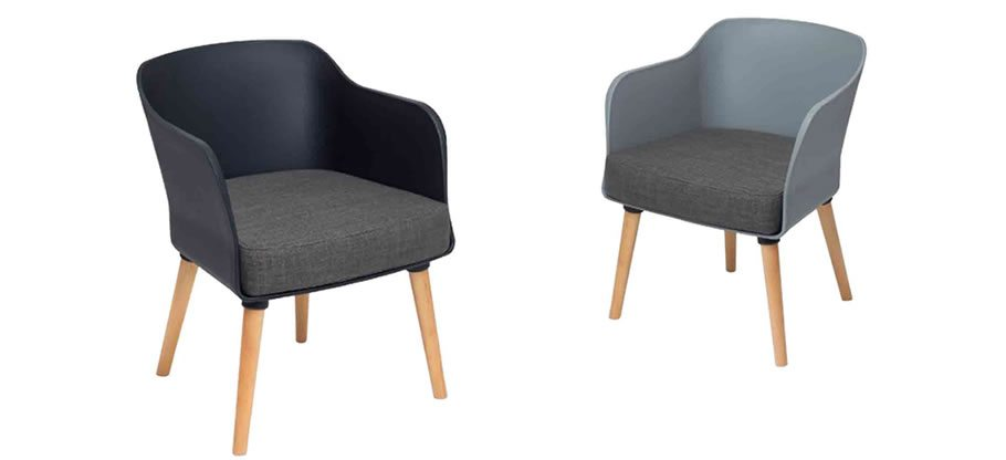 Poppy soft seating. Traditional tub chairs