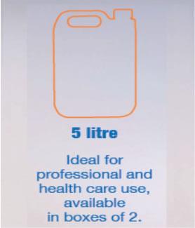 Anti-Bacterial Hand Gel 5 litre