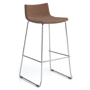 Miss #05. Bar stool with Upholstered seat