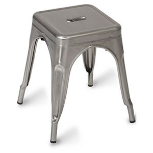 Paris #01. Steel Chairs & Stools