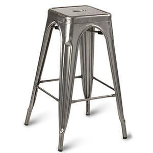 Paris #02. Steel Chairs & Stools