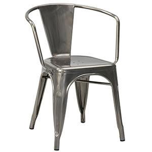 Paris #05. Steel Chairs & Stools