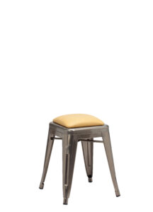 13.-French-Bistro-Low-Stool-with-Upholstered-Seat-Panel