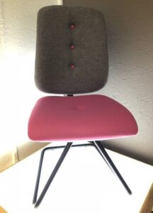 Folly office chairs with deep buttons