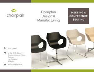 Download a copy of the Chairplan conference, meeting & training room seating brochure by simply completing your details below and clicking the request button.