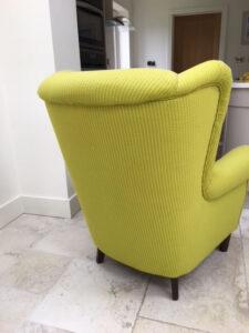 Damaged chair