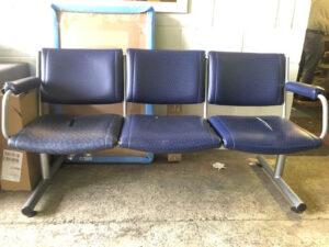 Damaged seating
