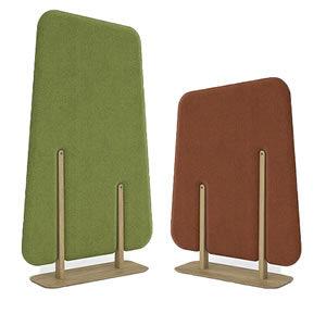 Forest acoustic panels