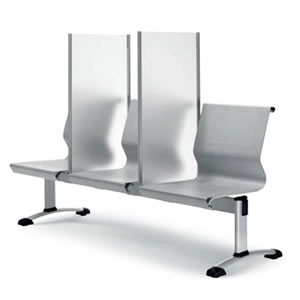 Bench seating screens