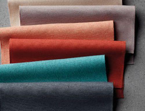Environmentally friendly, flame retardant textile backing