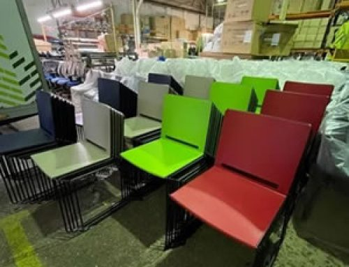 Large order of office & meeting room chairs