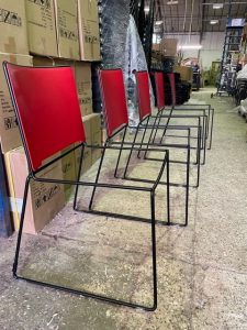 Manufacturing of chairs